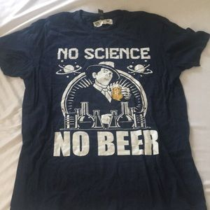 Other - No Science No Beer men's t-shirt L